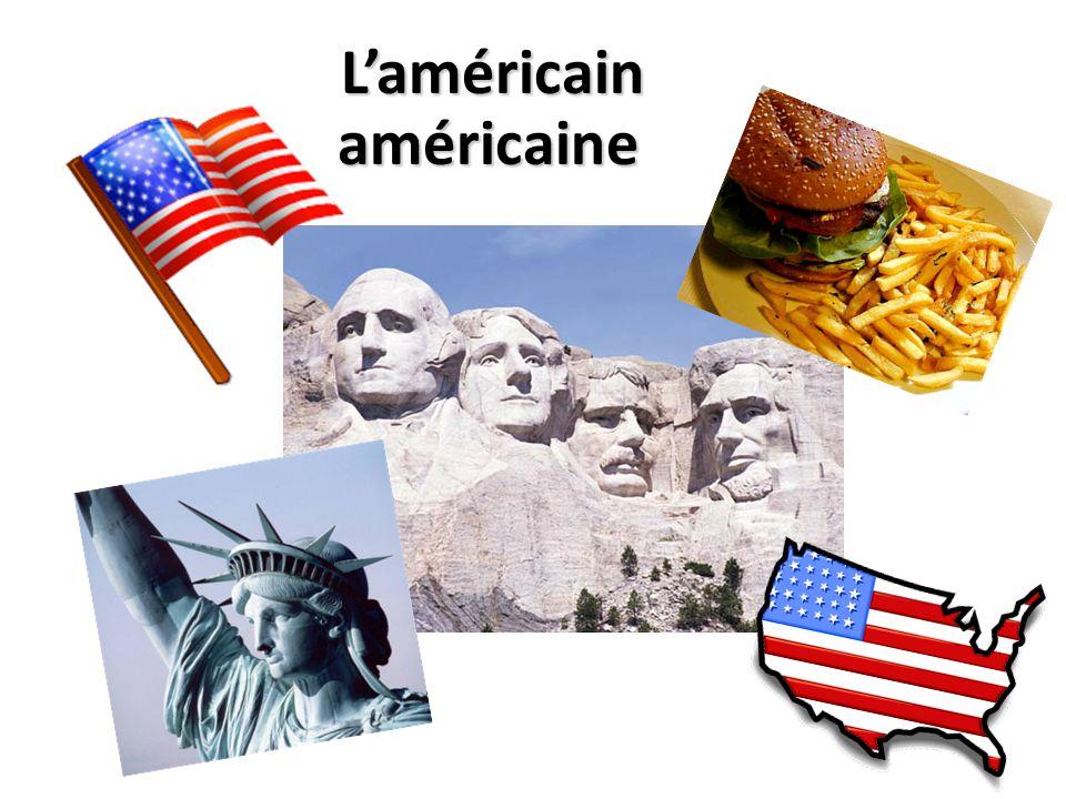 Laméricain américaine