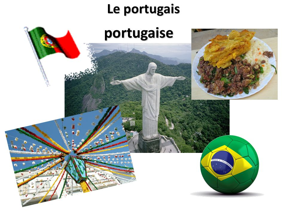 Le portugais portugaise