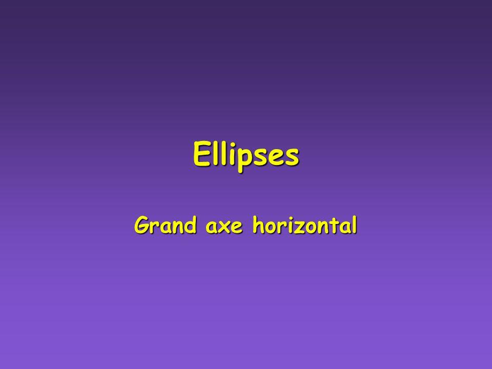 Exemples dÉllipses Exemples dÉllipses Fais une construction