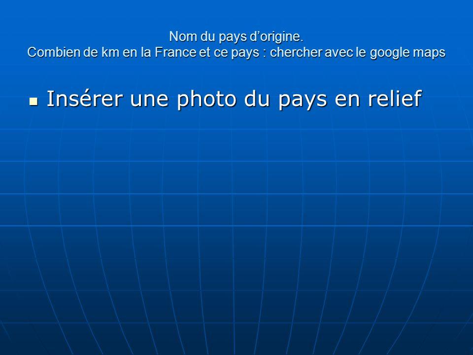 Insérer des photos dans la présentation de votre choix + insérer des zone de texte en dessous des photos pour y indiquer les noms