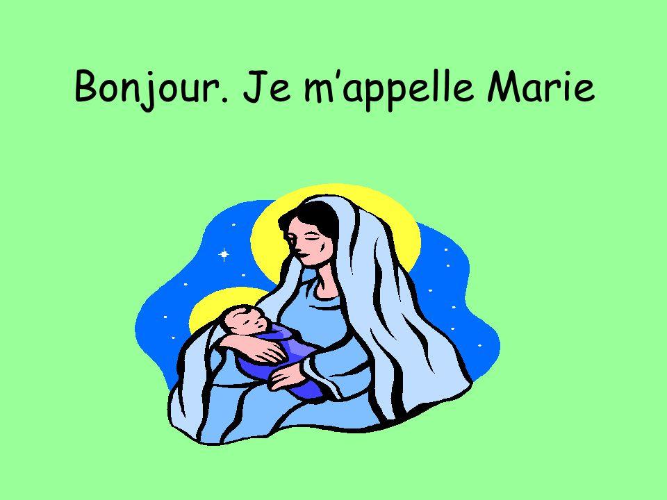 Un Enfant Roi est né à Bethlehem. Suivez létoile dans le ciel. Vite, par là !