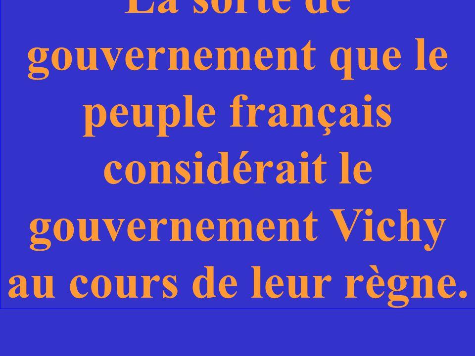 Quelle est la raison pour laquelle Pétain est accordé le rôle de chef du Gouvernement Vichy?