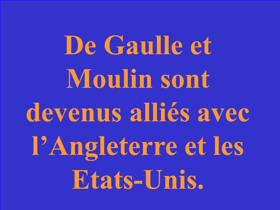 Qui est lhomme qui a travaillé avec le Général de Gaulle pour unifier la Résistance Française?