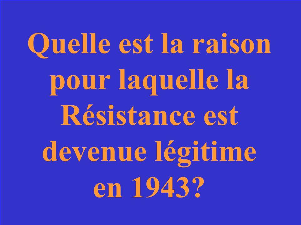De Gaulle et Moulin sont devenus alliés avec lAngleterre et les Etats-Unis.