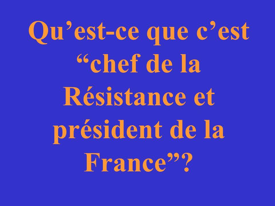 Les rôles de Charles de Gaulle pendant et après la 2e Guerre Mondiale