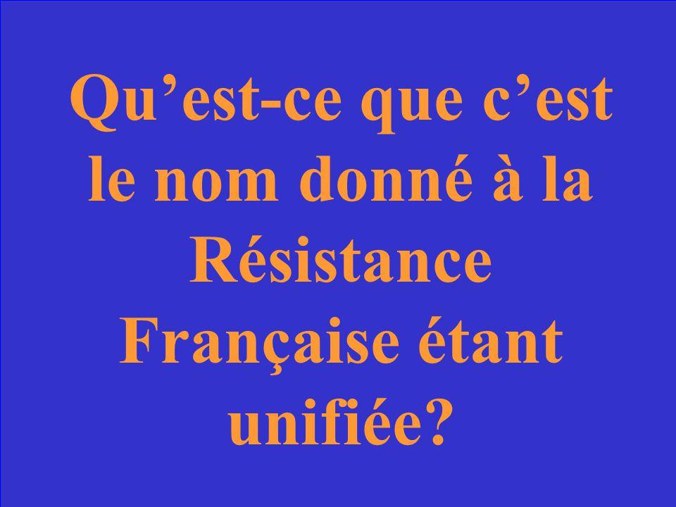 Le CNR.