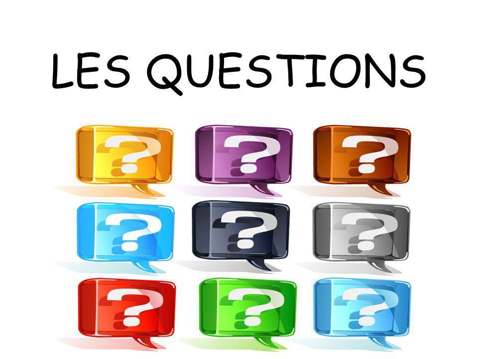 Il y a 3 manières de poser une question : En utilisant la forme affirmative Avec lintonation Exemple : Tu tappelles Michel .