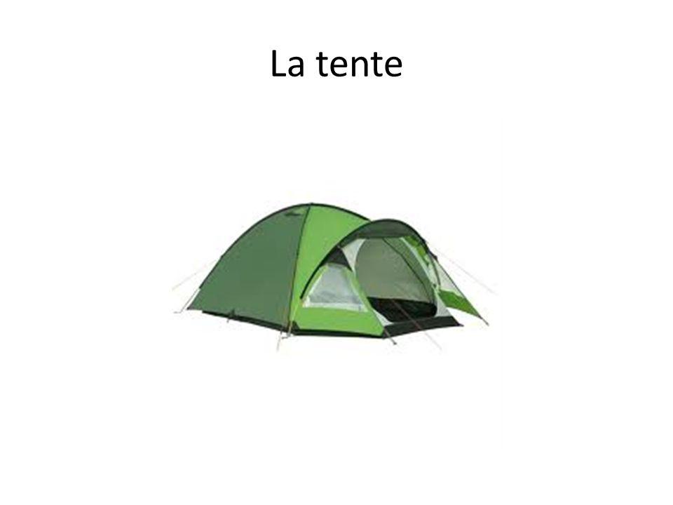 La tente