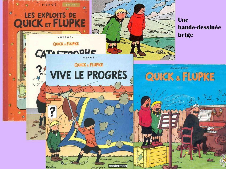 Une bande-dessinée belge