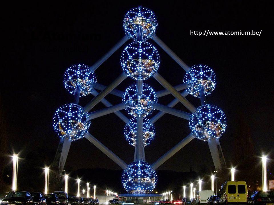 LAtomium (à Bruxelles) http://www.atomium.be/