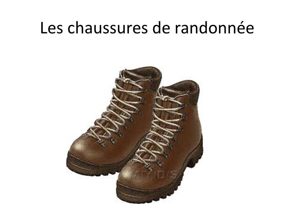 Les chaussures de randonnée