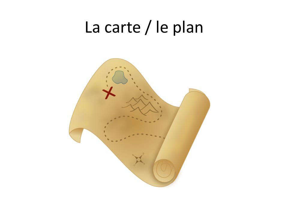 La carte / le plan