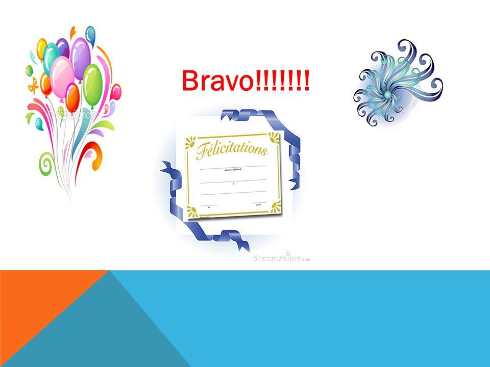Bravo!!!!!!!