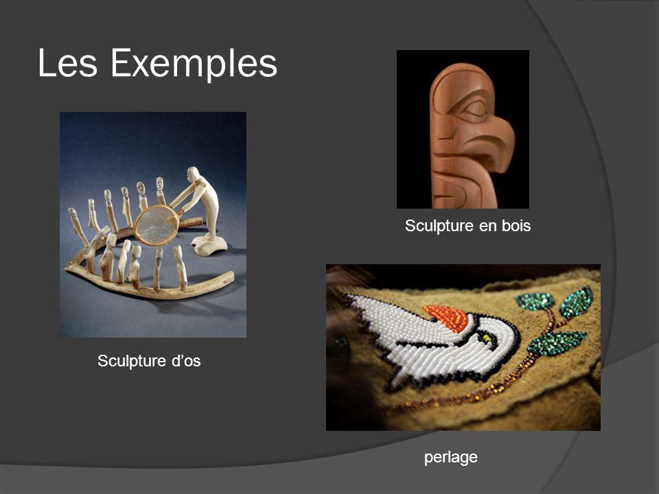 Les Exemples Sculpture dos Sculpture en bois perlage