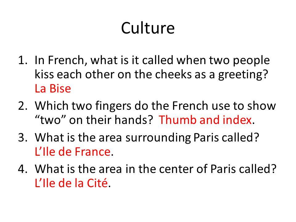 Culture 5.What castle did Louis XIV build.Versailles.