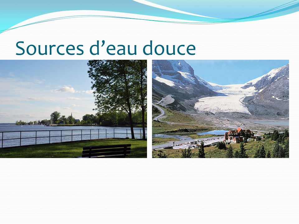 Sources deau douce