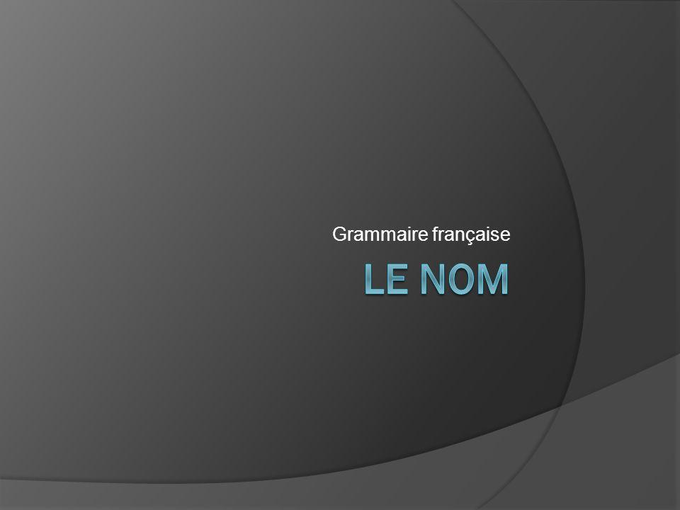 Indices Le complément du nom nest jamais après un verbe.