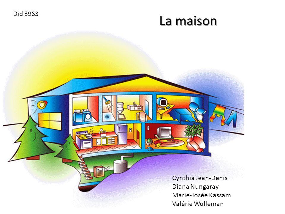 La maison Cynthia Jean-Denis Diana Nungaray Marie-Josée Kassam Valérie Wulleman Did 3963
