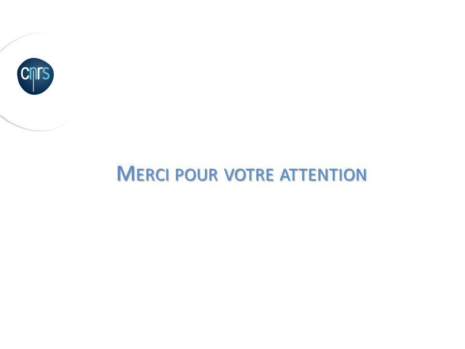 M ERCI POUR VOTRE ATTENTION