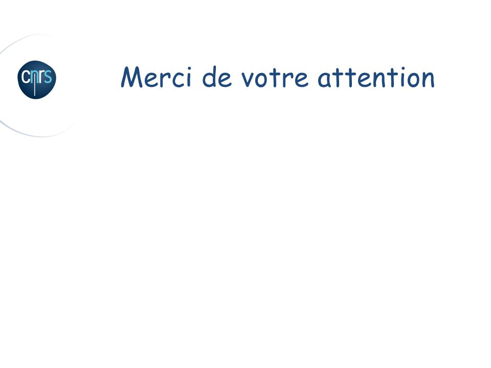 14 Réunion gestionnaires 22 Octobre 2009 Merci de votre attention