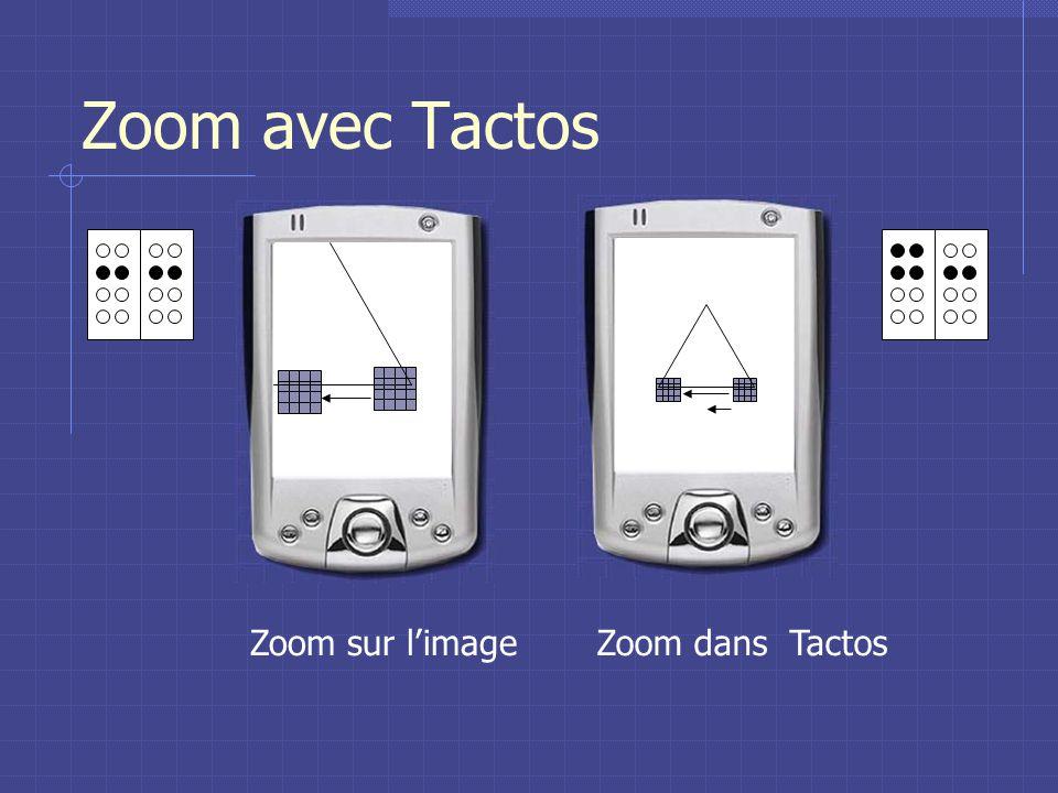 Zoom avec Tactos Zoom sur limageZoom dans Tactos
