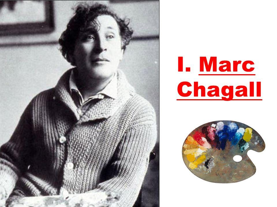 Marc Chagall est né le 7 juillet 1887 en Biélorussie.