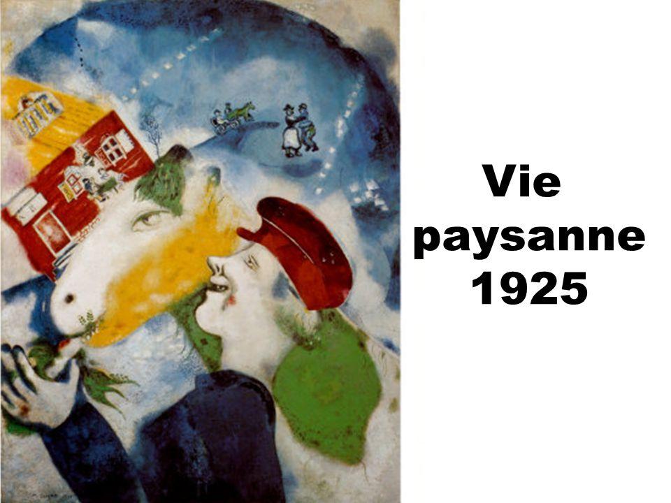Vie paysanne 1925