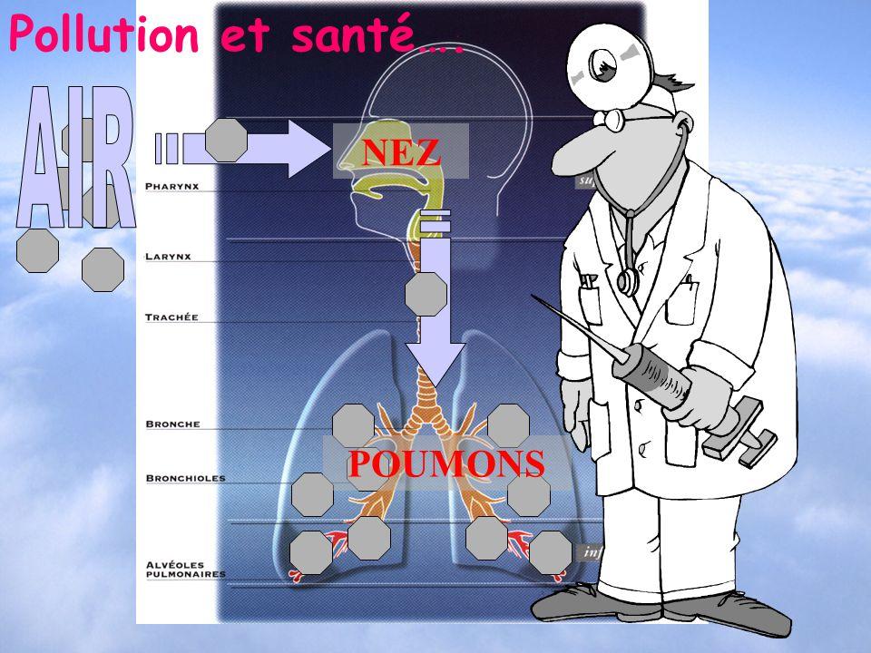 NEZ POUMONS Pollution et santé….