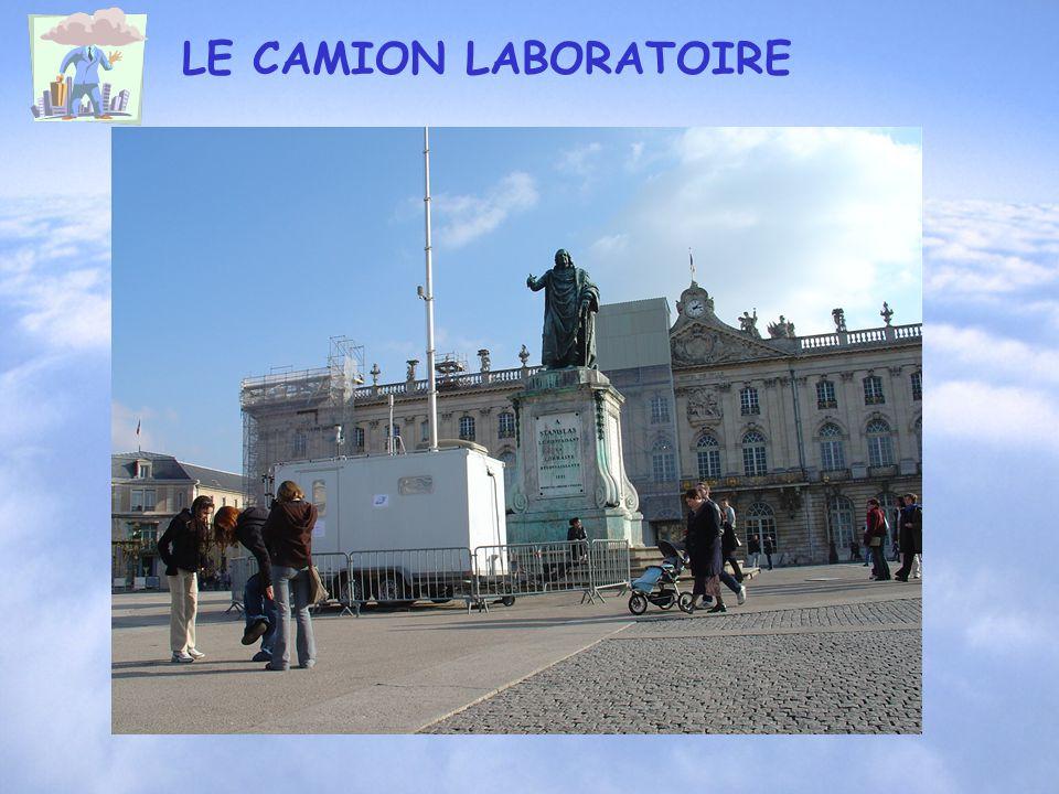 LE CAMION LABORATOIRE