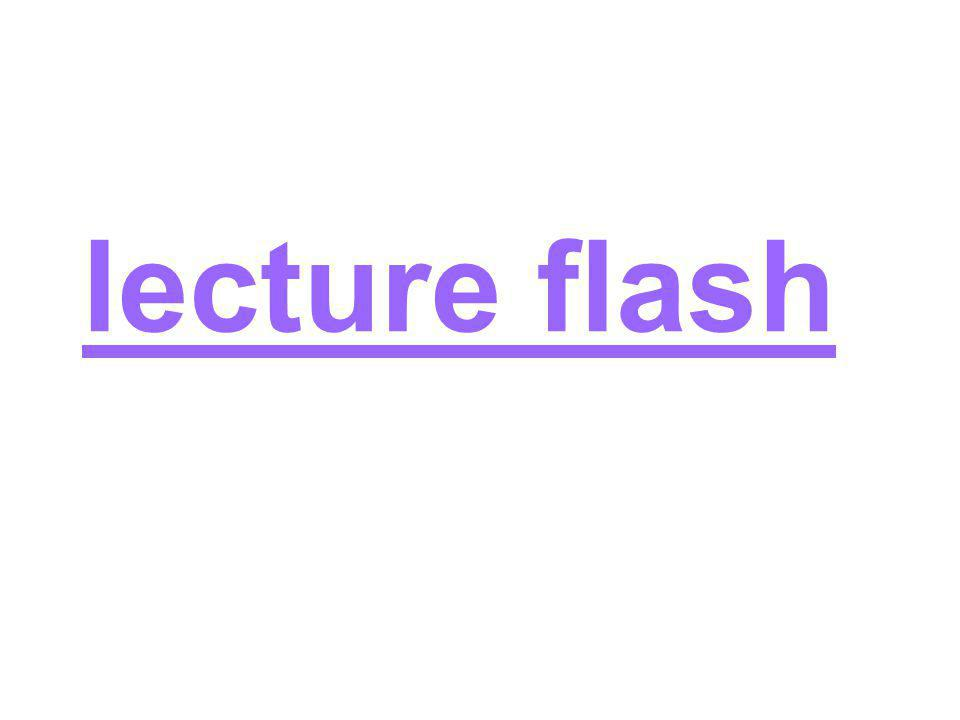 lecture flash