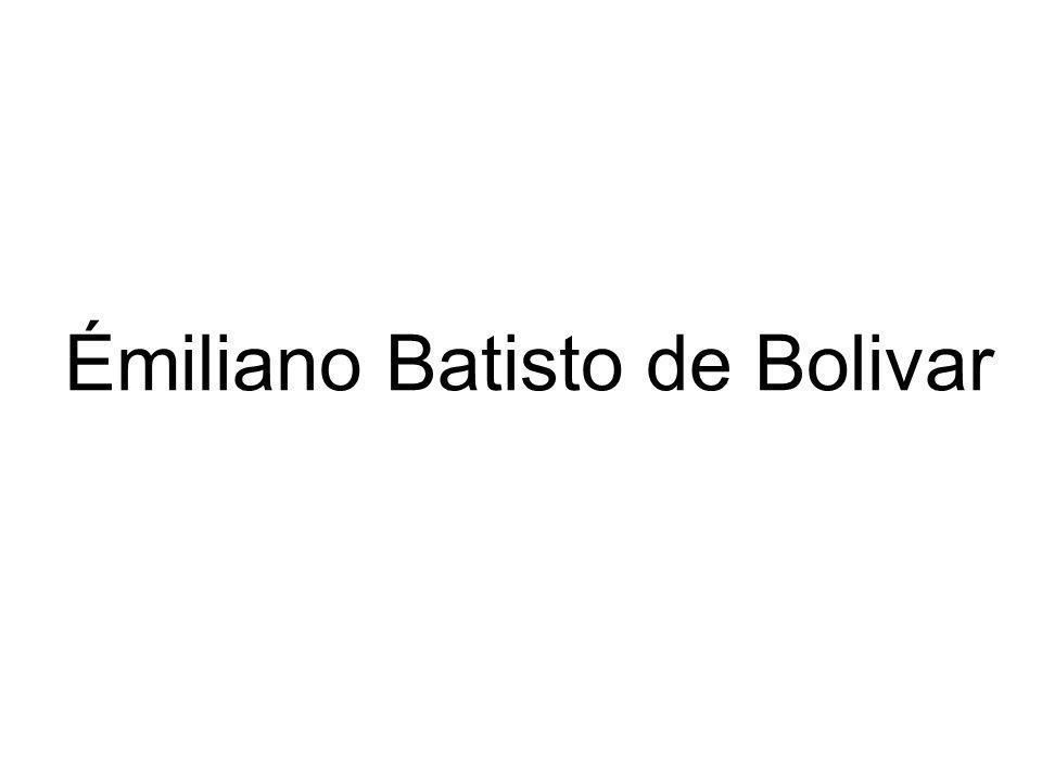 Émiliano Batisto de Bolivar