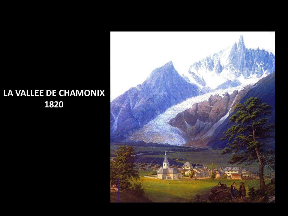 LA VALLEE DE CHAMONIX 1820
