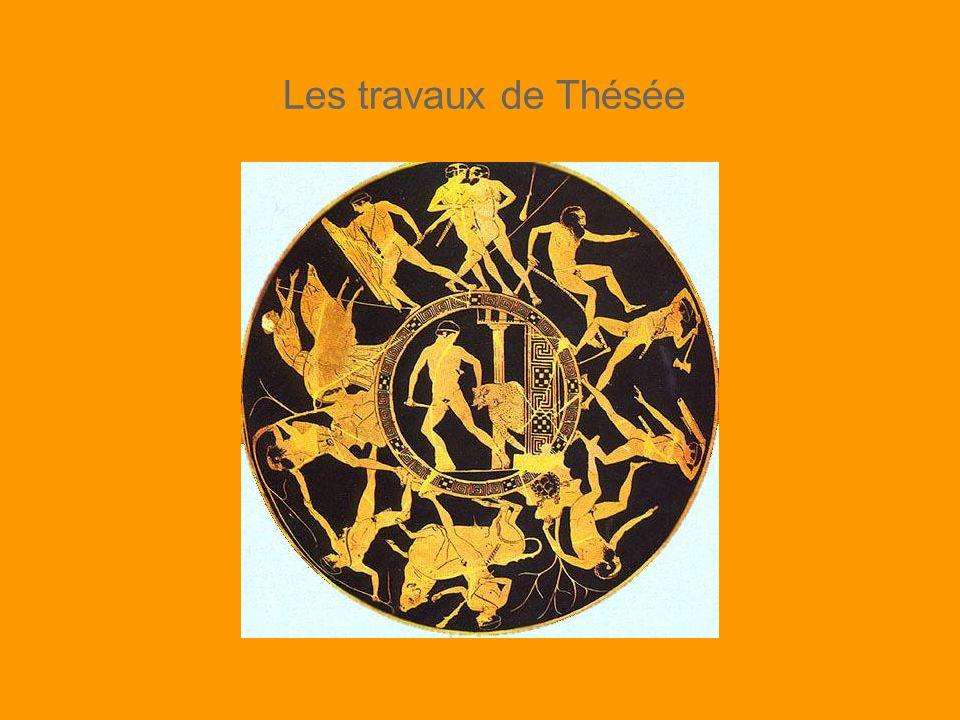 Le Minotaure vaincu Ajoutez l image de Thésée trainant la peau du Minotaure MARION V