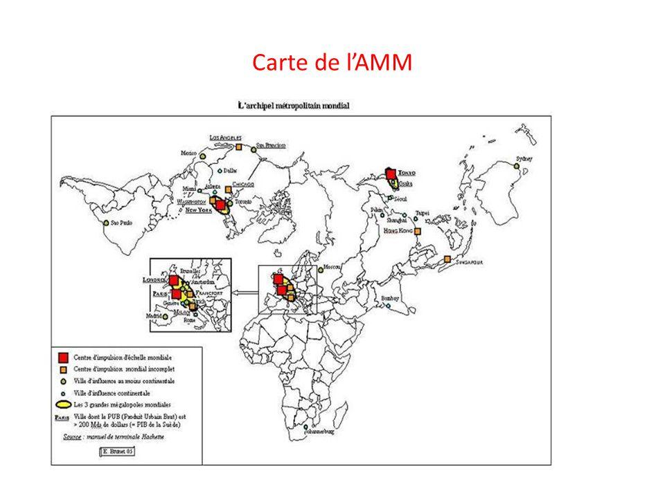 A) Les interfaces … 2) les façades maritimes et les ZIP (zones industrialo-portuaires ) carte livre p.