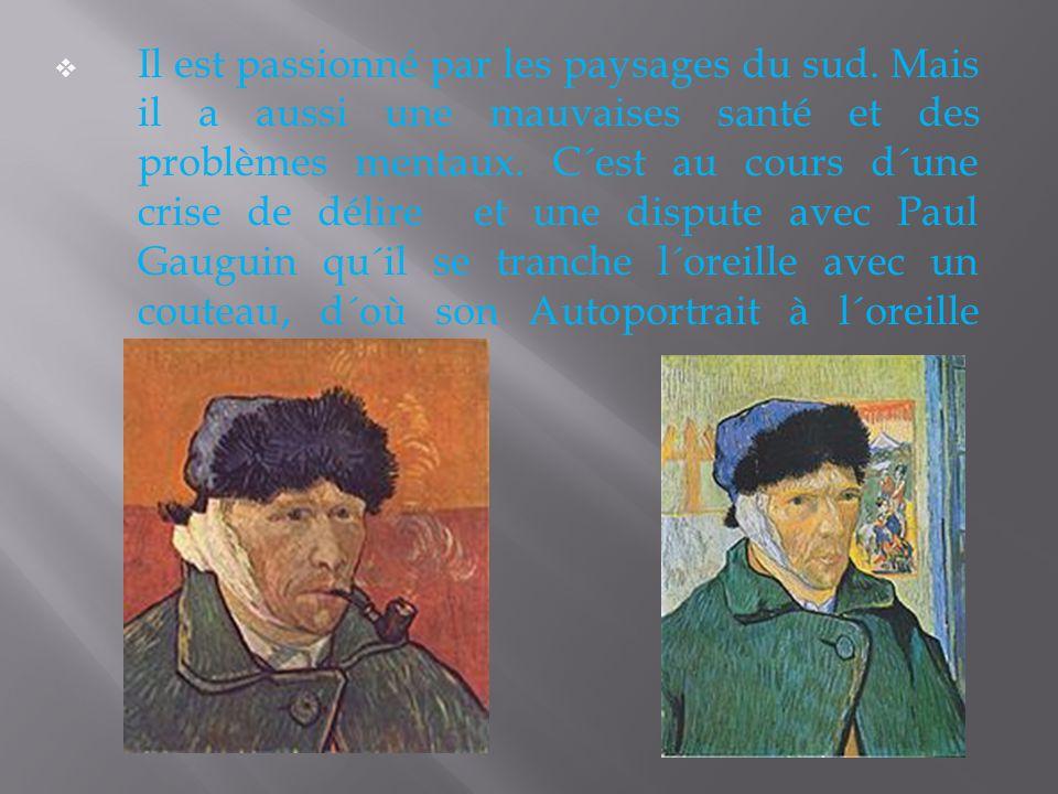En février 1888, Vincent quitte Paris pour s´installer à Arles. Vincent peint beaucoup sa chambre dans la maison jaune.