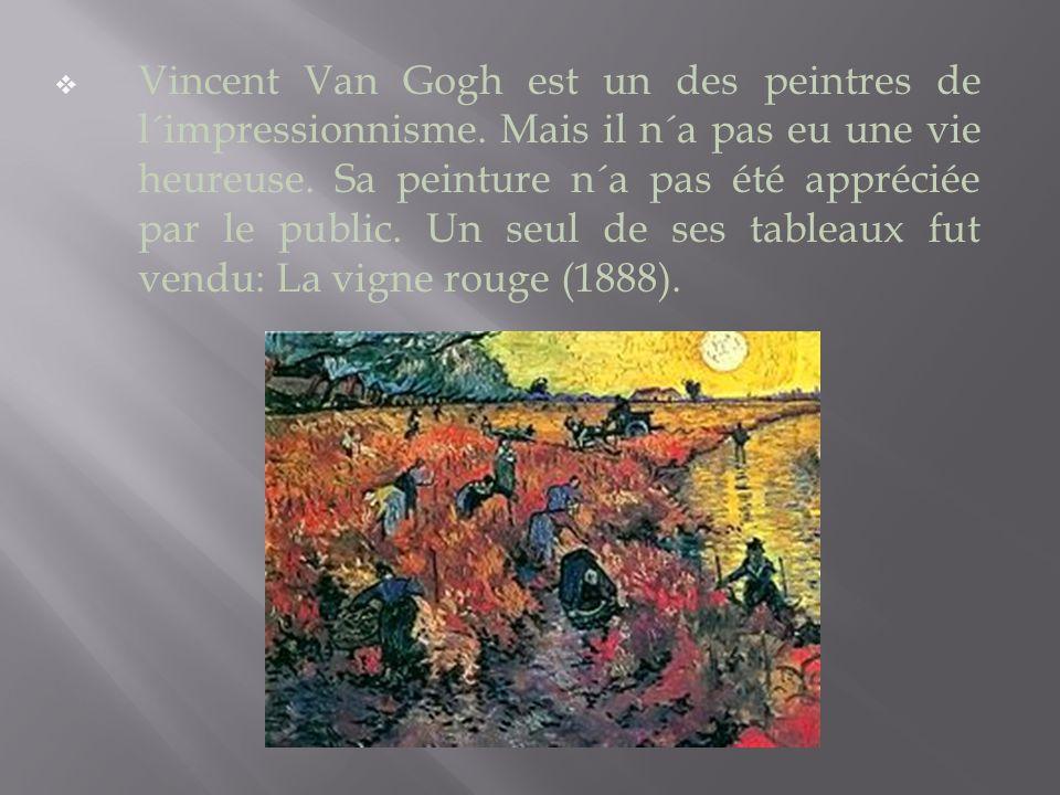 Van Gogh est traité de fou et va à l´asile.