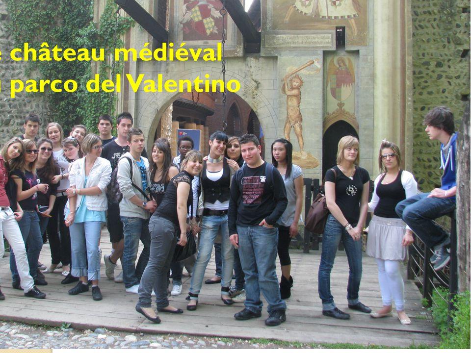 Le château médiéval du parco del Valentino