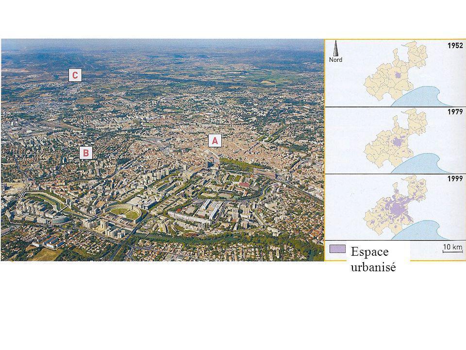 Espace urbanisé
