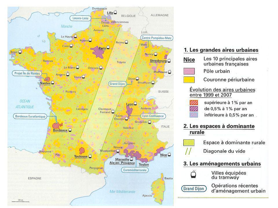 Montpellier est lune de principales aires urbaines de France avec plus de 500 000 habitants.