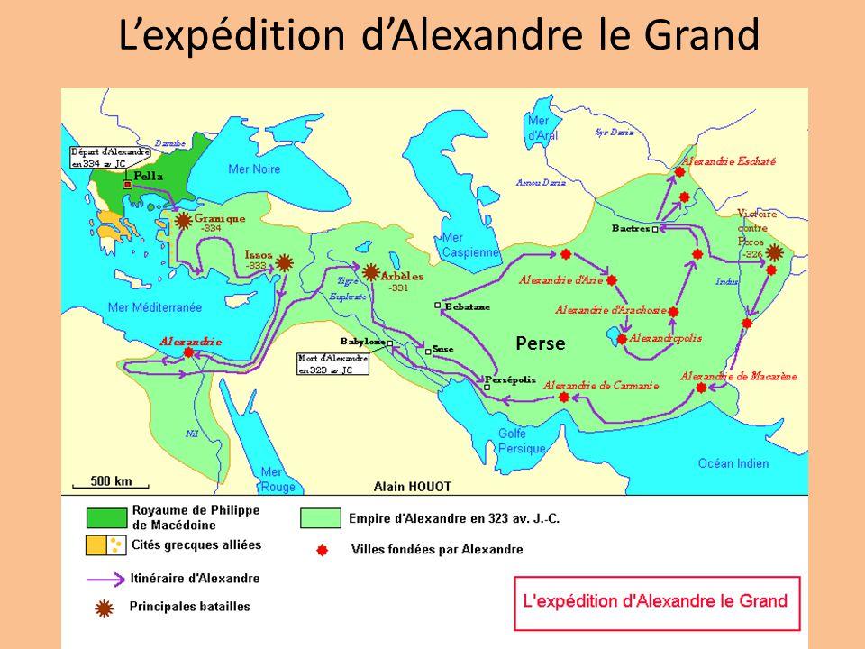 Les conquêtes dAlexandre