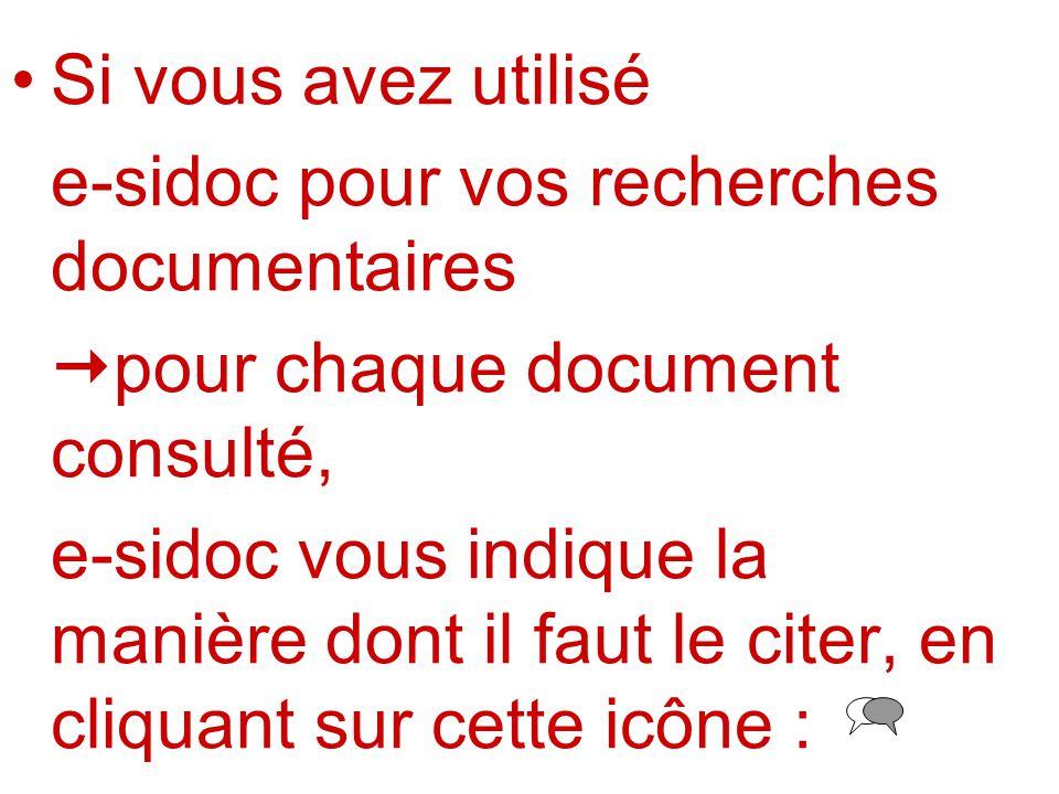 INDICATIONS OBLIGATOIRES Dictionnaires et encyclopédies : Titre de louvrage.