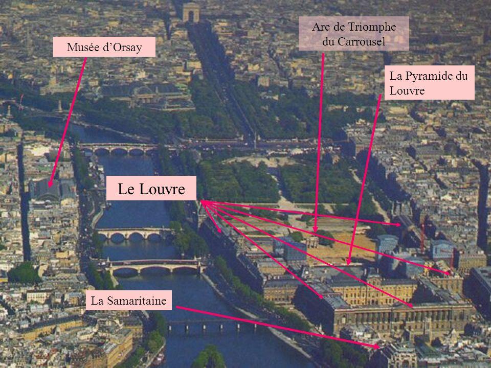 Arc de Triomphe Ave des Champs Élysée Grand et Petit Palais Place de la Concorde Jardin des Tuileries Pont Alexandre-III Musée dOrsay Pont de la Condo