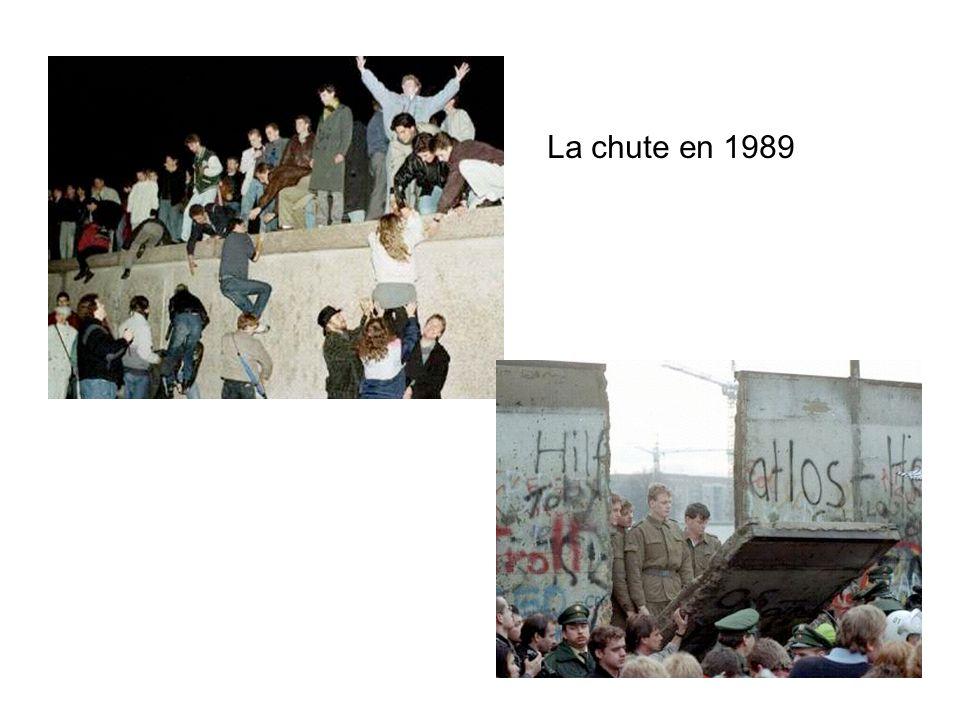 La chute en 1989