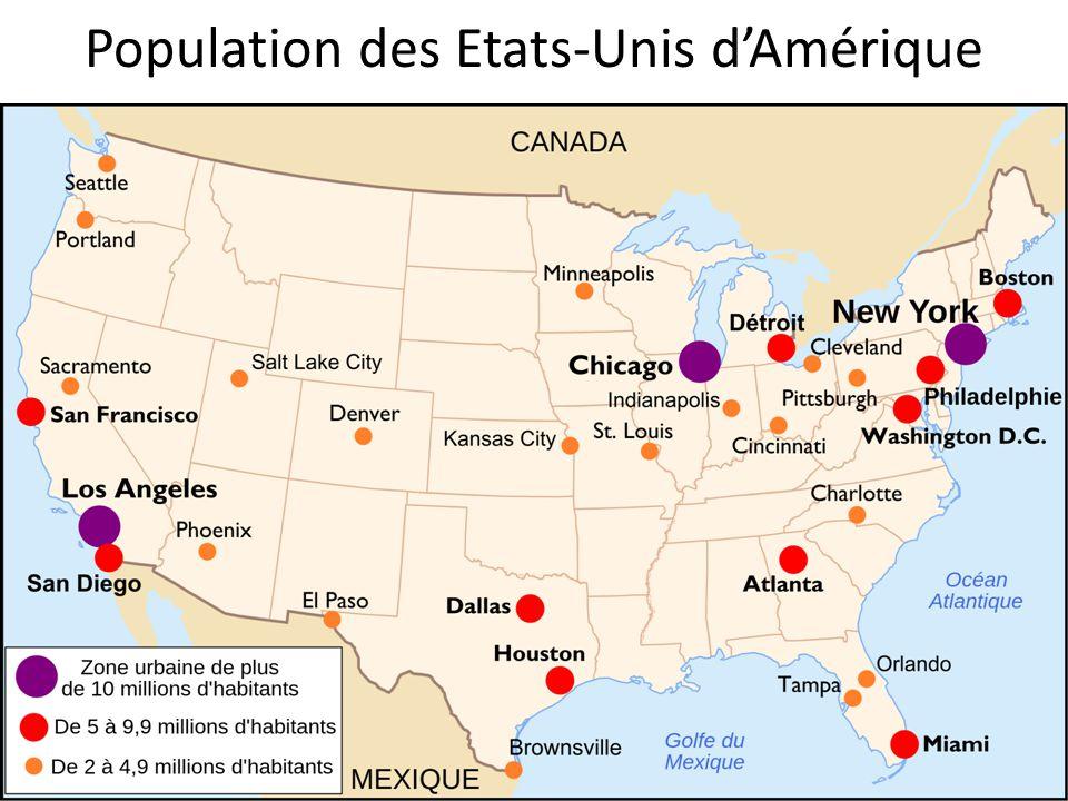 Population des Etats-Unis dAmérique