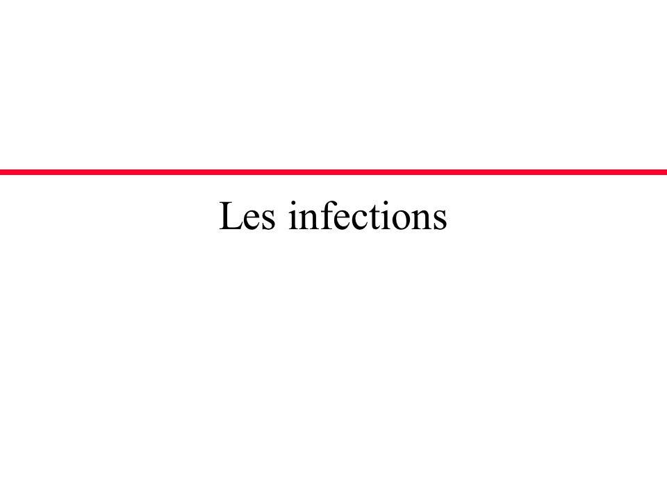 Risque infectieux chez le tranplanté Combinaison de deux facteurs –Facteurs dimmunosuppression –Exposition accrue à des agents infectieux Greffon (CMV) Milieu nosocomial