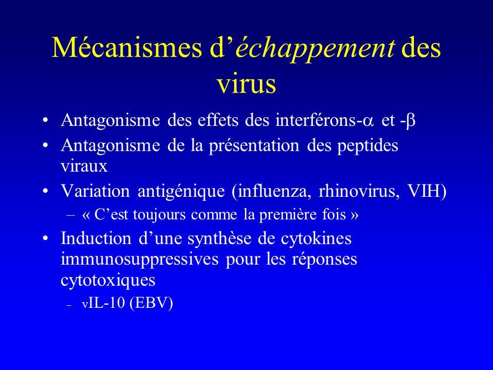 Un exemple : le virus influenza