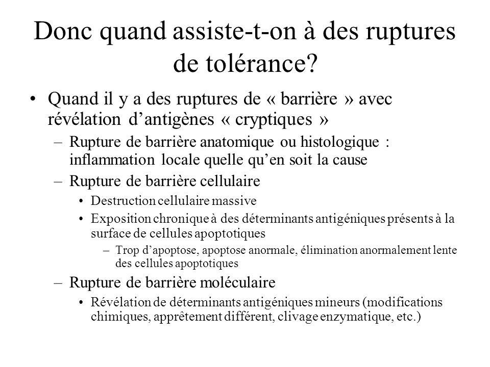 Exemple de phénomènes de type I Dermatite atopique Rhinite pollinique Asthme Choc anaphylactique
