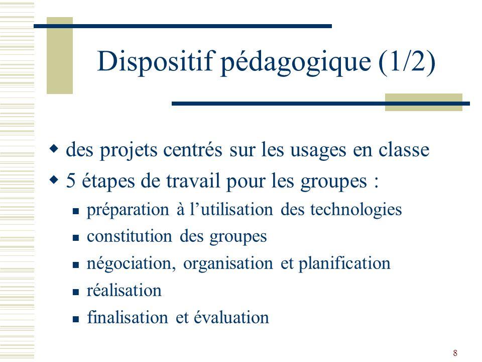 9 Dispositif pédagogique (2/2) accompagnement par des tuteurs utilisation du campus réflexion un rapport individuel et un rapport de groupe des critères d évaluation communs