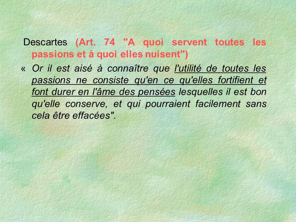 Descartes (Art. 74