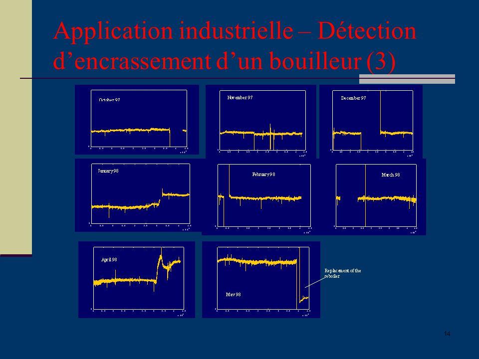 14 Application industrielle – Détection dencrassement dun bouilleur (3)